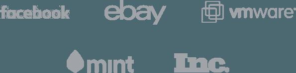 Facebook, eBay, VMware, mint, Inc.