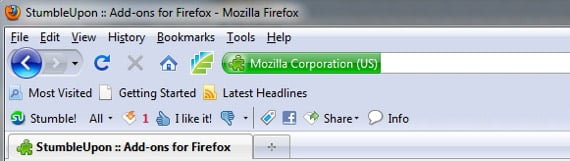 stumbleupon toolbar firefox