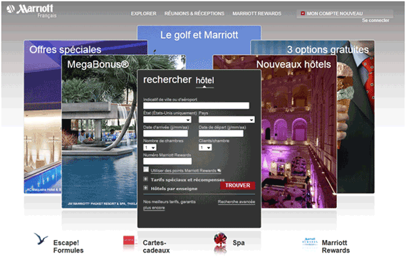 marriott website for France