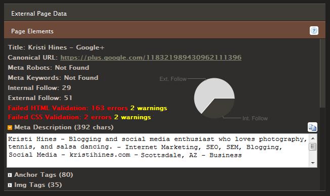 google chrome seo site tools social media profile optimization Hi, I'm Hoai