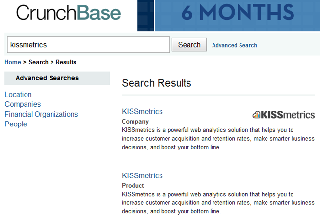 advanced and alternative search engines crunchbase