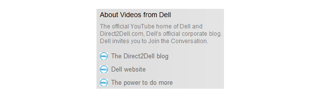 Dell About Section