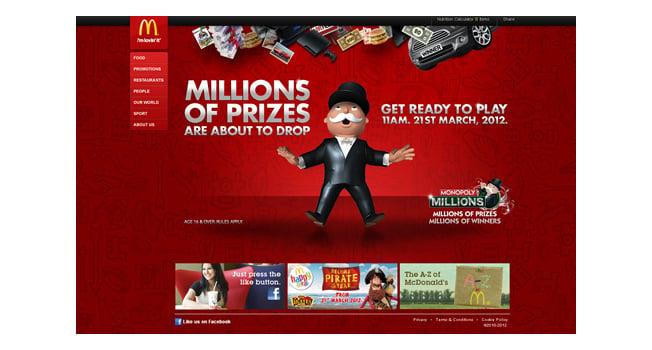 mcdonalds monopoly campaign