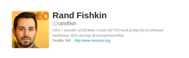 Rand Fiskin Twitter Bio