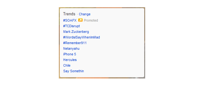 twitter advertising trending topics