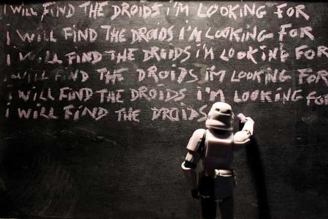 Stormtrooper Blackboard