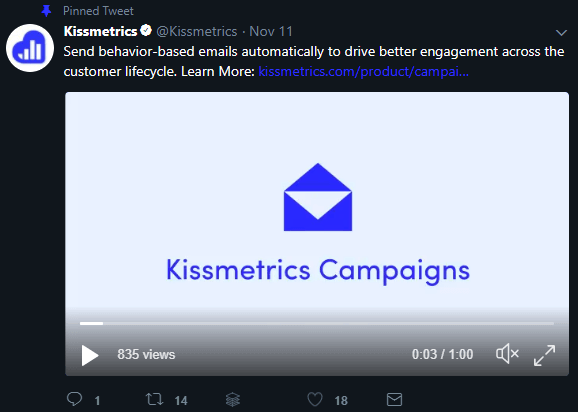 kissmetrics campaigns