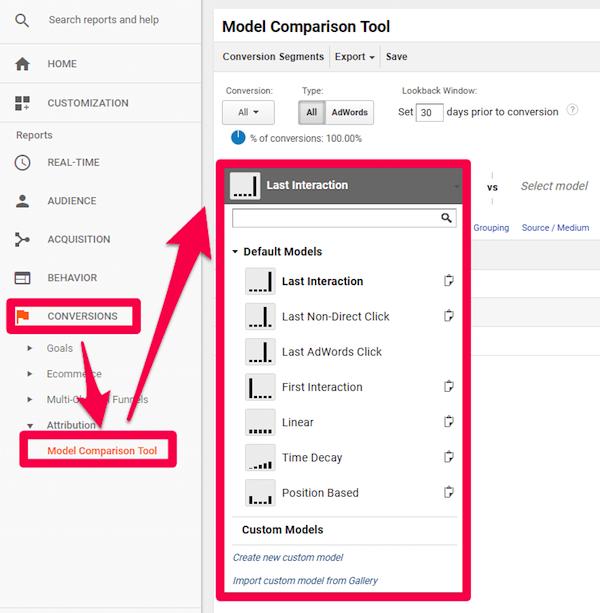 model comparison tool