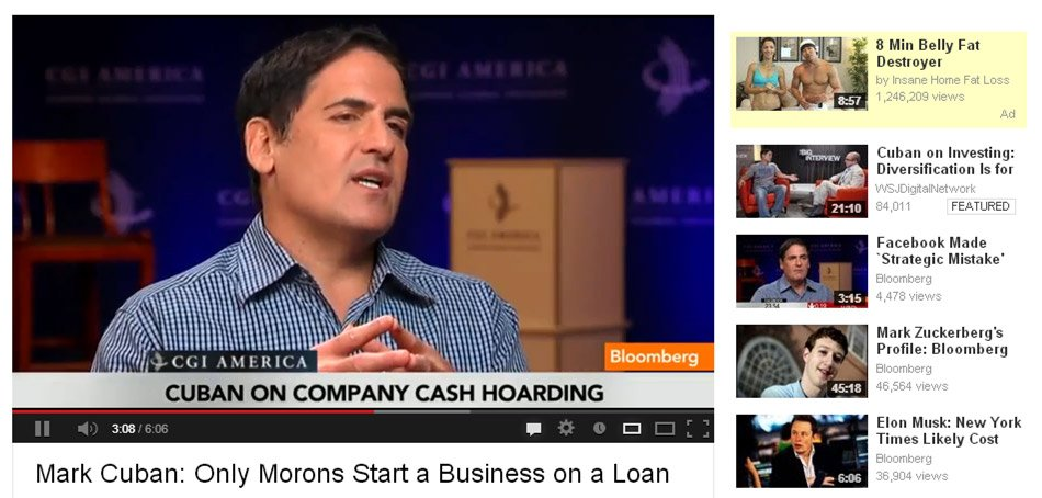 mark cuban only a moron
