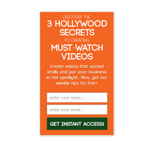 3 hollywood secrets