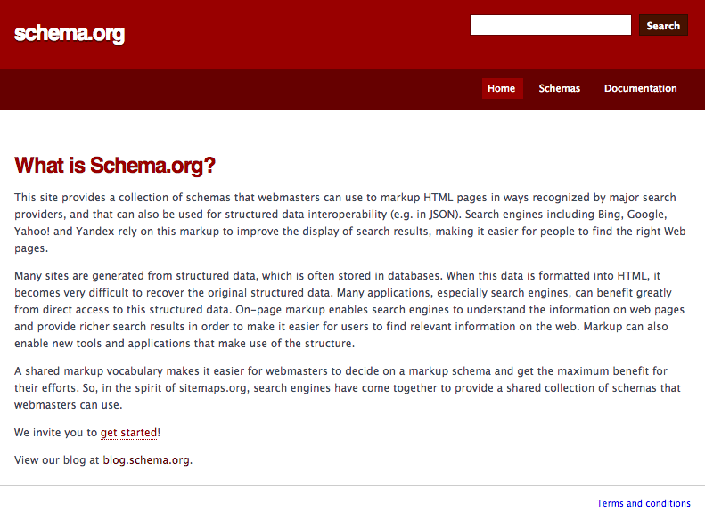 What is schema.org