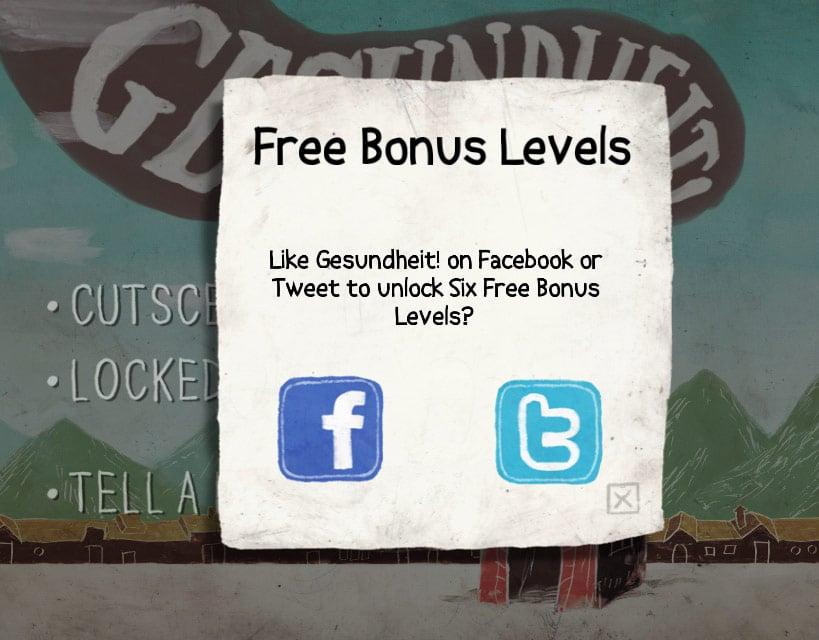 free bonus levels