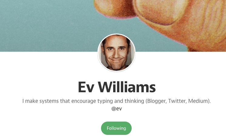 profile ev williams