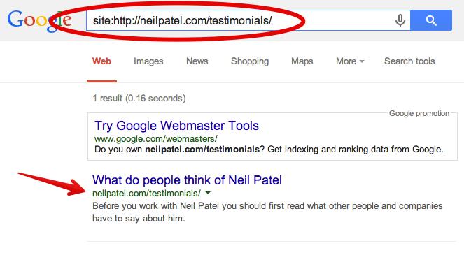 google neil testimonial