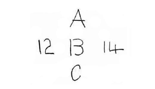 1 a b c 12 14