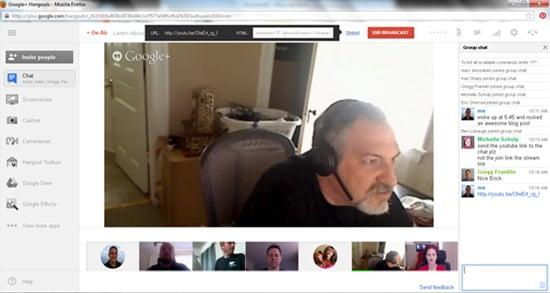google hangout webinar
