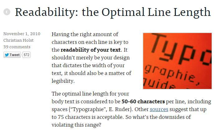 16 readability