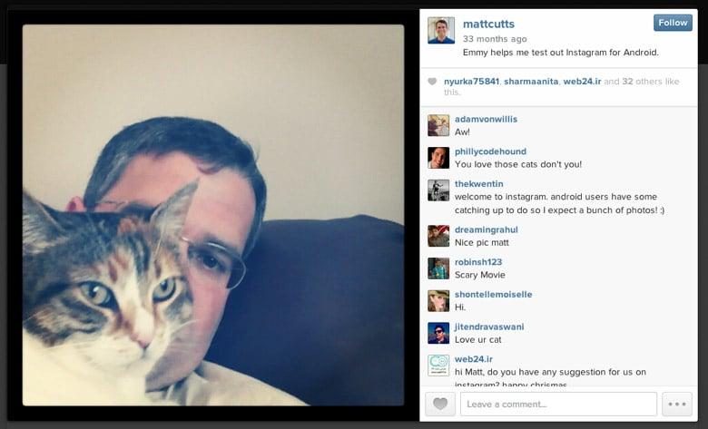 matt cutts instagram