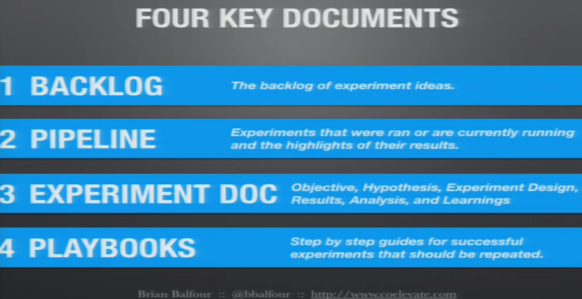 four key documents growth brian balfour