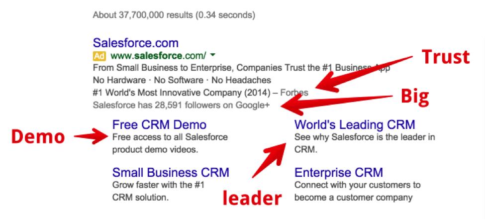 salesforce serp