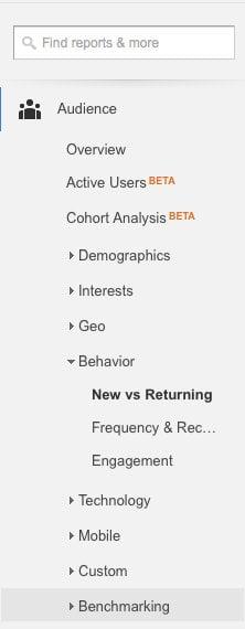 New-vs-Returning-User-google-analytics