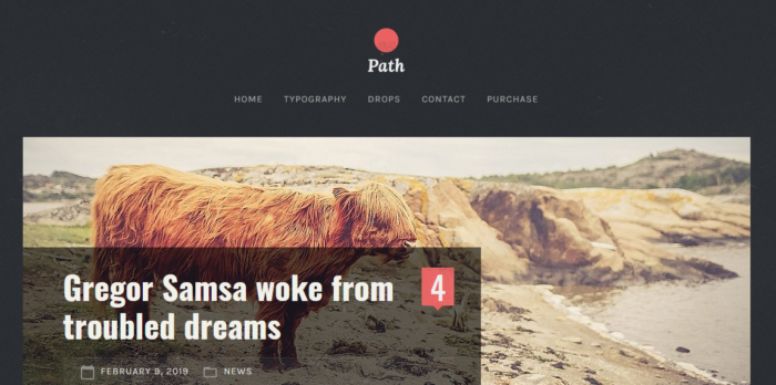 path free wordpress theme screenshot