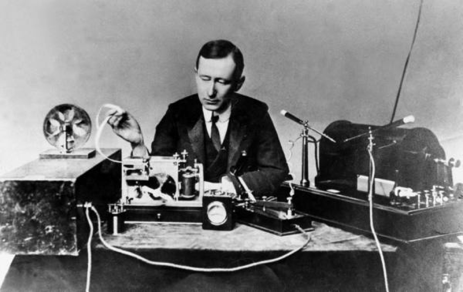 gulielmo marconi - the first offline digital marketer