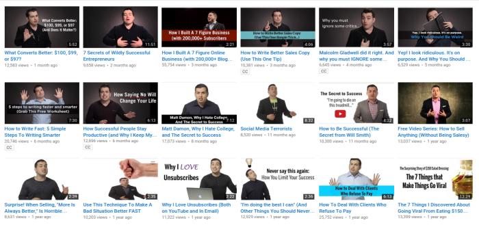 daha fazla youtube abonesi edinin örneği