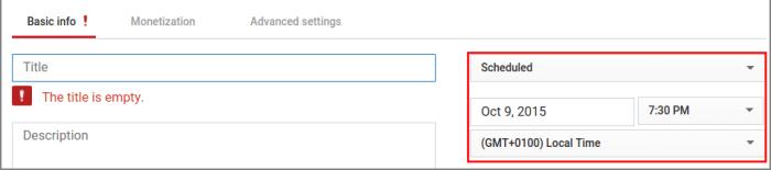 get youtube subscribers set schedule date