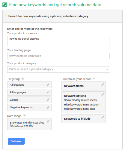 increase youtube subscribers using Google to search for keyterms