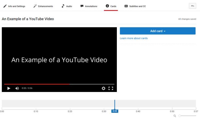 Erhöhen Sie die Anzahl der YouTube-Abonnenten mit YouTube-Karten
