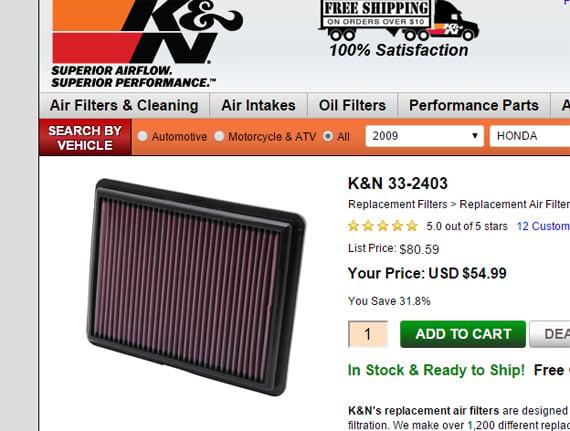 k-n-air-filter