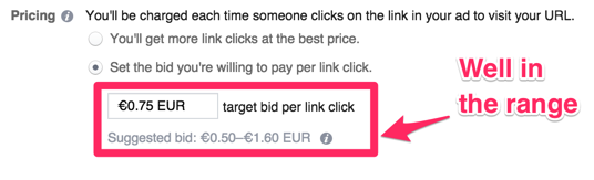 facebook advertising pricing