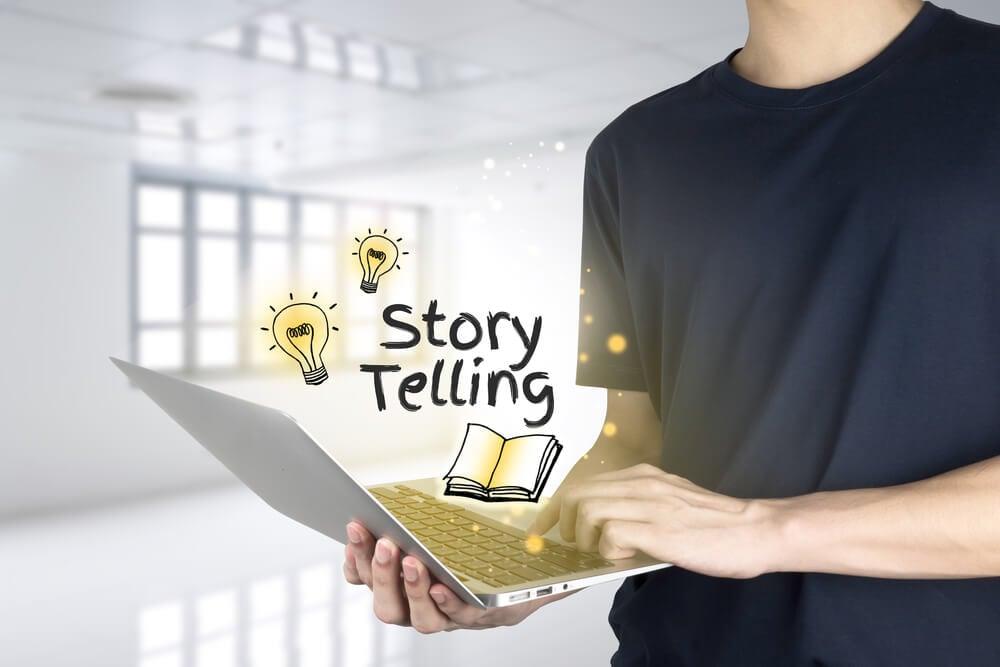 profissional de storytelling
