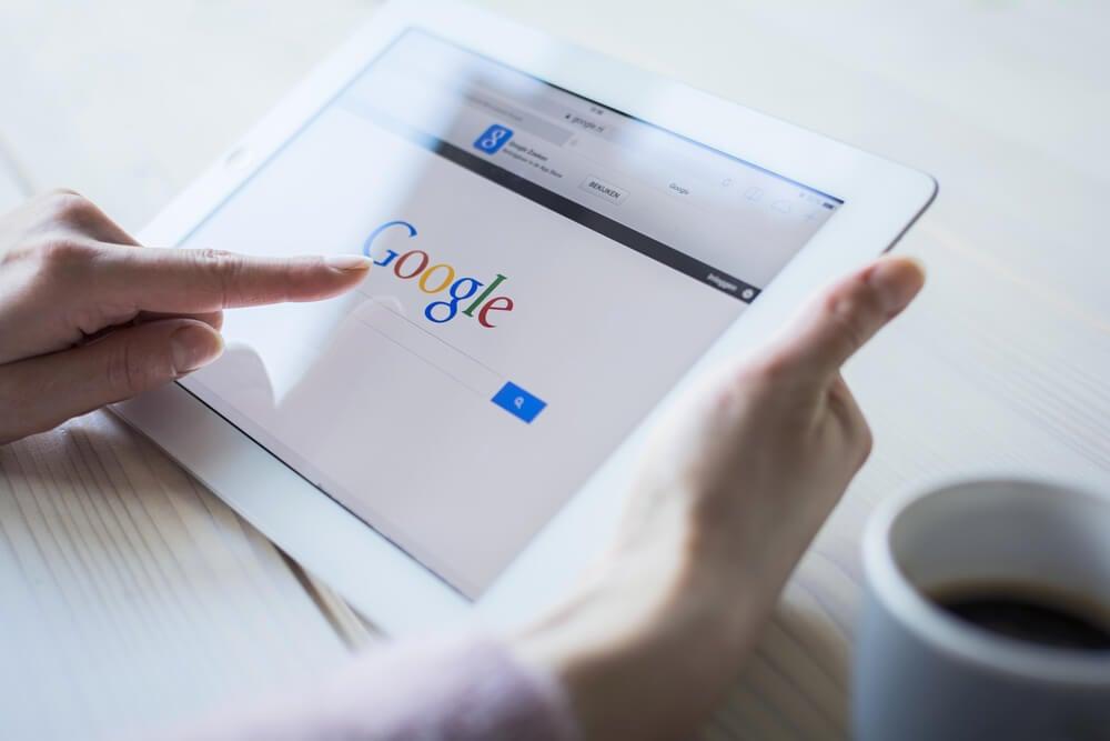 pesquisas no google
