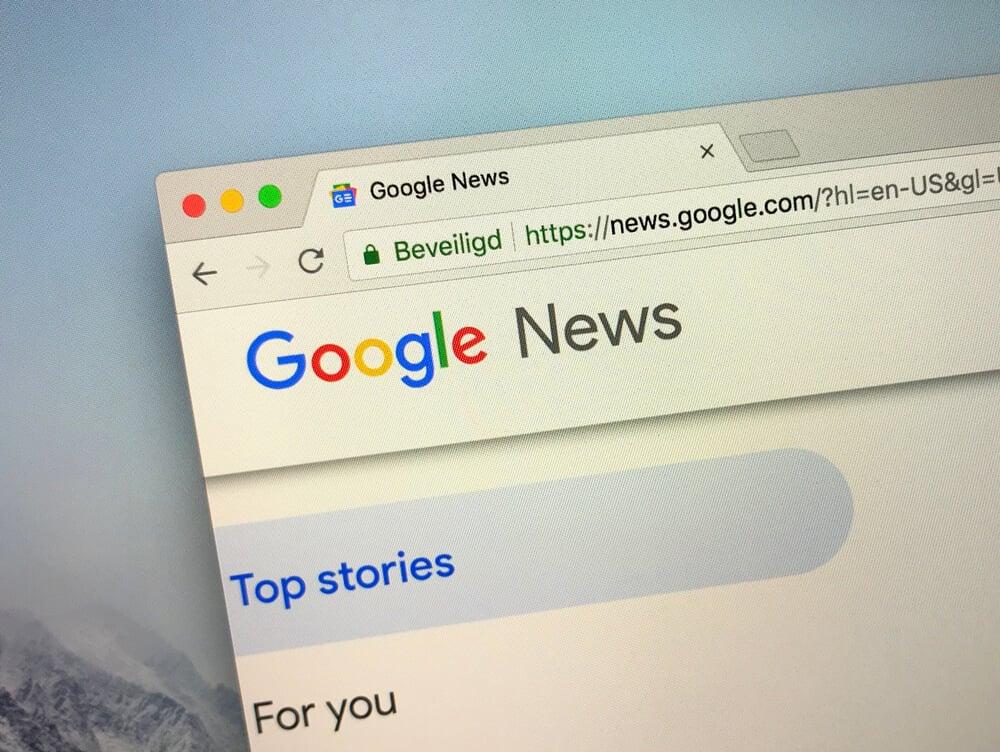resultados de pesquisas de notícias no google