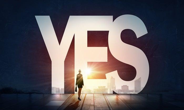 big yes