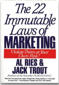 livro leis imutáveis do marketing