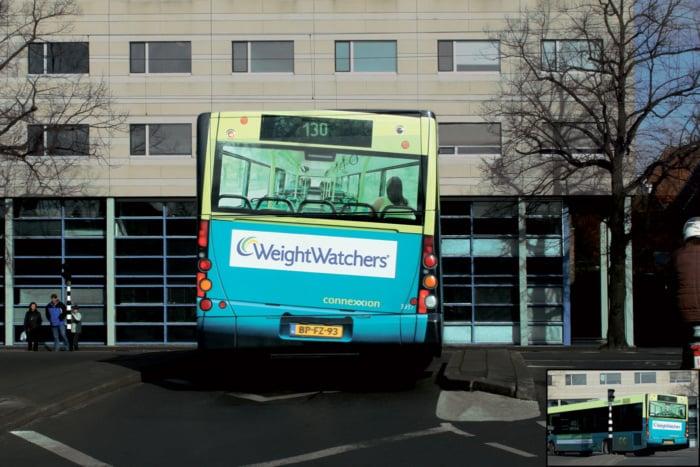 exemplo de anúncio publicitário da empresa weight watchers