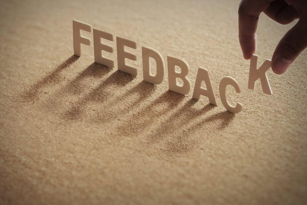feedbacks ajudam a escrever melhor