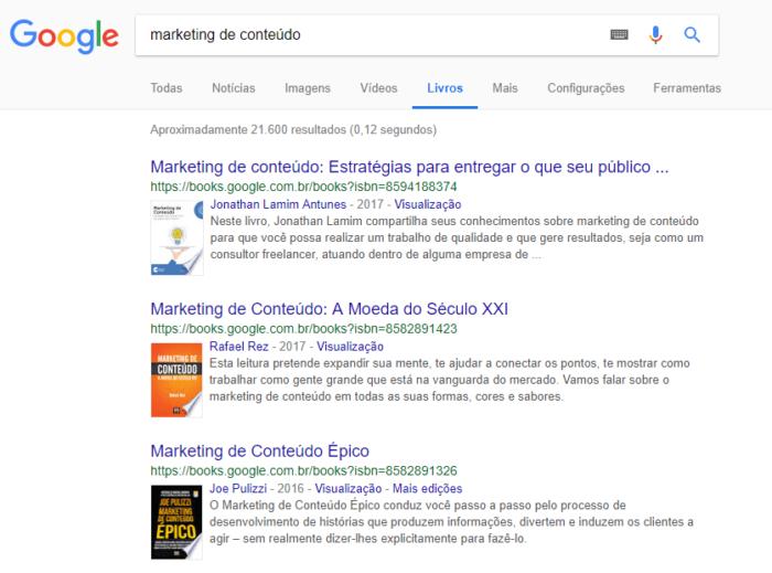 google livros