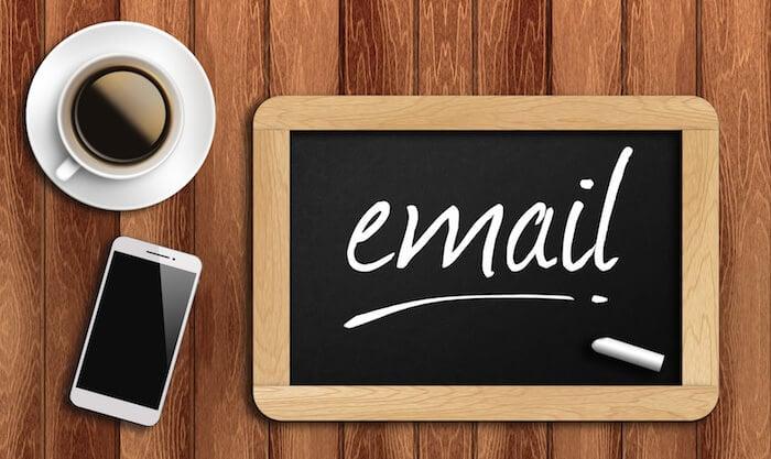 modelos de email tipos e exemplos