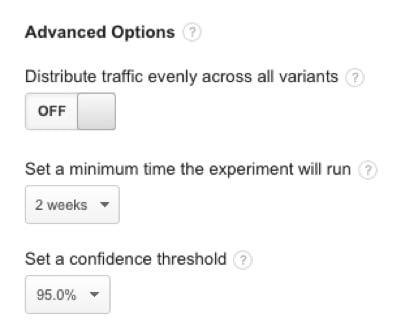 content-experiments-advanced-options