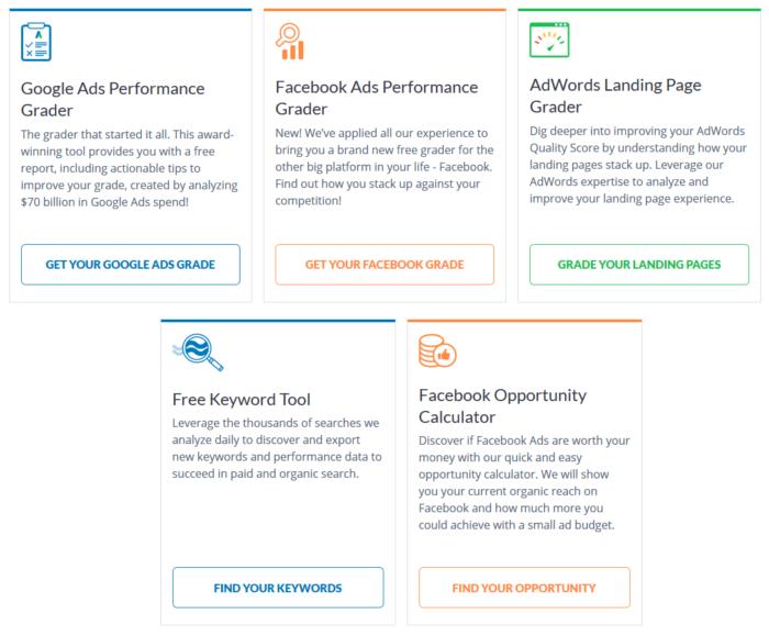 wordstream ferramentas