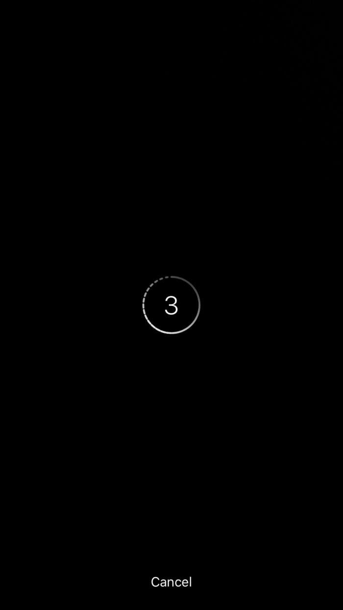 contagem regressiva live video instagram