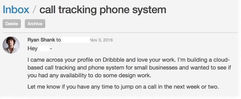 dribbble-inbox-message