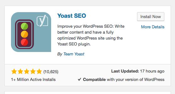 add yoast SEO to WordPress - title tag guide