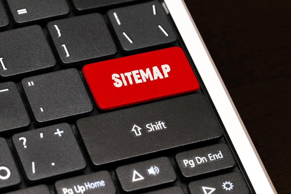 formato de sitemap XML