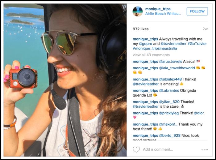 instagram monique trips