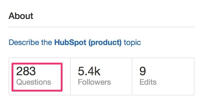 All Questions on HubSpot product Quora